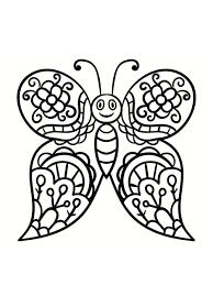 Belle coloriages difficiles a imprimer. Coloriage Papillon 40 Dessins A Imprimer Gratuitement