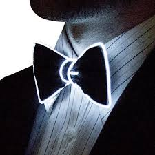 <b>Smart LED</b> Neon <b>Light</b> Up Bow Tie for Raves Dance Dinner Parties ...