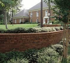 Small Picture brick retaining wall Retaining walls Pinterest Brick masonry