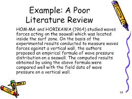 an example literature essay