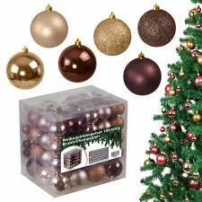 120tlg Weihnachtskugeln Christbaumkugeln Real
