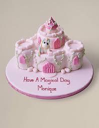 Personalised Fairytale Castle Cake Serves 36 Ms