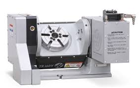 Haas Rotary Fit Chart Five Axis Vmc Features Rotary Table Modern Machine Shop