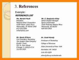 References On A Resume Best References On Cv Reference Examples How Write A Page For Resume