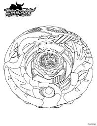 Beyblade Battles Coloring Pages For Girls Online Sheets Kids Full