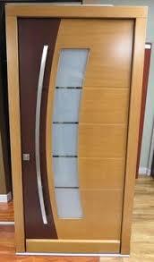 modern wooden door designs for houses. Retro Modern Exterior Door Two Tone | Doors / Contemporary Wooden Designs For Houses E