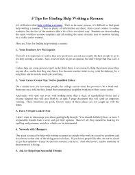 Help With Resume Resume Help Nyc Therpgmovie 7