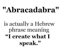 Hebrew Quotes Adorable Actually Is From Aramaic Precursor To Hebrew The Aramaic Is Avra