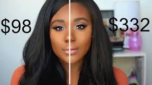 dupes for por high end makeup 2016 i full face vs highend you