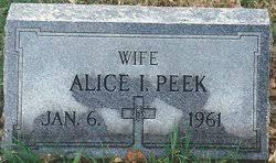 Alice Ivy Mason Peek (1890-1961) - Find A Grave Memorial