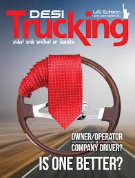 Desi Trucking_usa_sept Oct 2017 By Creative Minds Issuu