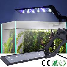 Rohs Led Aquarium Light Details About Adjustable Led Aquarium Fish Tank Light Bar Clip On Blue White For 30 45cm Tank