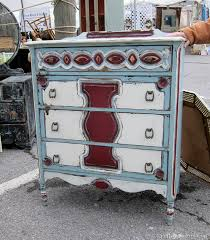 multi colored painted furniture. Multi-color Painted Chest By Crabtree Corner Nashville Flea Market Shopping Trip Petticoat Junktion. Fun Fabulous Furniture Multi Colored I