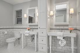 bathroom tile grey subway. White Subway Tiles With Gray Glass Border Trim View Full Size Bathroom Tile Grey