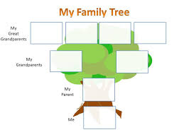Family Tree Templates Kids Family Tree Template School Project Our Descent
