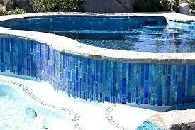 glass tile pool waterline ideas best tile for pool waterline or waterline pool tiles lovely best
