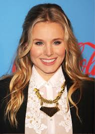 Kristen Bell Middle Part Long Wavy Hairstyle Long Hairstyles With Middle Part Best Middle Part Hairstyles Ways To Wear A Center