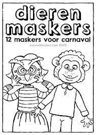 Carnaval Kiddikleurplaten