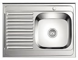 <b>Накладная</b> кухонная <b>мойка Ledeme L98060</b>-<b>R</b> 80х60см ...