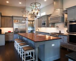 for an interesting contrasting look try a wooden or butcher block countertop this is an especially good idea if you re an avid chef as butcher block