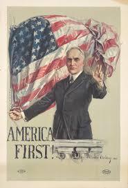 "「Woodrow Wilson ""America First""」の画像検索結果"