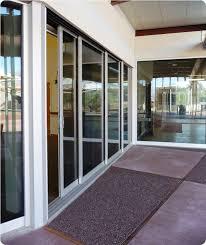 image of triple pane sliding glass doors