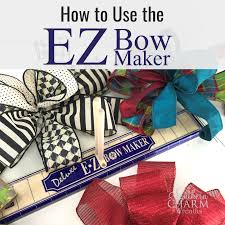 review how to use the ez bow maker