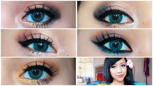 hair and eye makeup for blue eyes 5 makeup looks that make blue eyes pop you