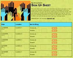 volunteer sign up sheet templates sign in sheet template word functional capture volunteer doc