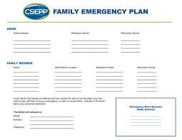 Family Emergency Plan Garrard County Emergency Management Agency