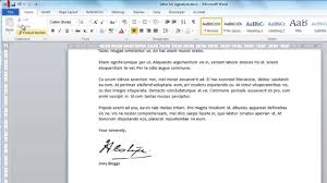 How To Do A Signature How To Create Digital Signature In Word Youtube