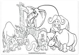 Zoo Animal Coloring Pages Related Post Baby Zoo Animal Coloring