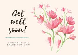 I get great reactions from the children, especially the first time around. Free Printable Editable Get Well Soon Card Templates Canva