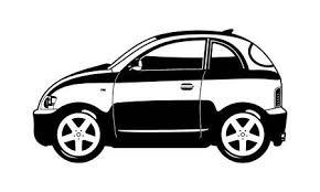 車の 3 つのアイソメ イメージベクトル背景のイラスト素材ベクタ