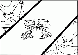 Small Picture Shadow The Hedgehog Coloring Pages For Kids Coloring Home