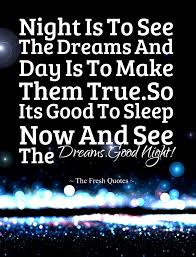 Quotes good night Romantic Inspiring Good Night Quotes Wishes The Fresh Quotes 28