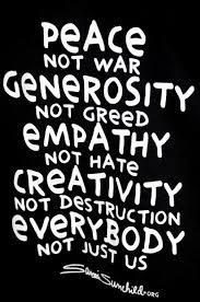 War And Peace Quotes Extraordinary Peace Not War Quotes QuotesGram ˜�Make Peace Not War