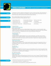 Resumes For Graphic Designers New Graphic Design Resume Resume