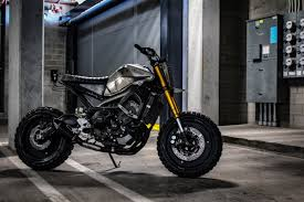 custom yamaha fz 09 motorcycle