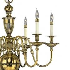 cambridge brass chandelier collection