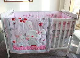 cribs baby furniture grey and white cot bedding sets girls cot bedding