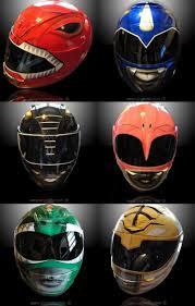custom motorcycle helmets power rangers background