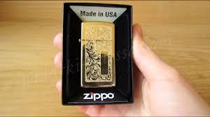<b>Зажигалка Zippo</b> 1652B Slim Brass <b>Venetian</b> (Видео обзор ...