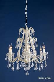 marie therese cream glass crystal 6 arm chandelier ceiling light dusx