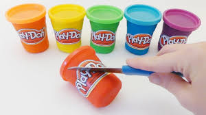diy play doh modeling clay how to make cans do it yourself learn colors colours abc