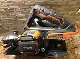 ridgid cordless tools. new ridgid r8653 gen 5x 18v brushless 7-1/4\ ridgid cordless tools 8