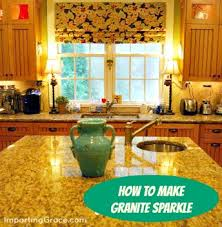 want to make your granite countertops sparkle that s easy