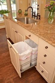 kitchen cabinet drawers. Remodeled Kitchen With Cabinet Drawer For Waste And Recyclable Baskets By Neal\u0027s Design Remodel. Drawers E