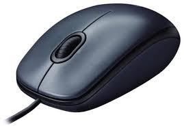 <b>Мышь</b> Logitech <b>Mouse M100</b> Black USB — купить по выгодной ...