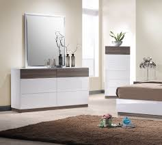 photo of bedroom furniture. Desain Italia MDF High Gloss Bedroom Furniture Warna Putih / Walnut Dengan 5 Set Photo Of R
